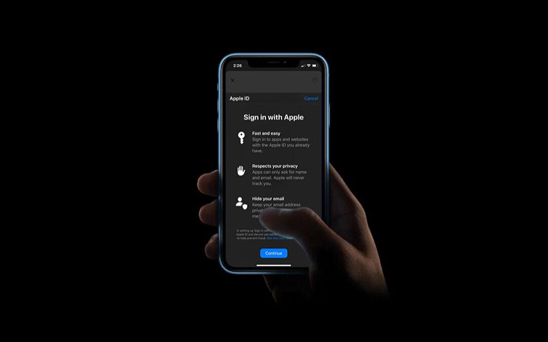 """Geschützt: So verwenden Sie """"Mit Apple anmelden"""" auf iPhone und iPad, um Ihre E-Mail vor Apps und Anmeldungen auszublenden."""